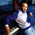 John Legend at the piano.
